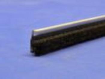 Cejilla lamelunas de felpudo 17mm, largo 125cm