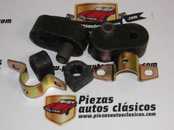Kit silembloks de estabilizadora R 4,5,6 y 7  10mm (Casquillo largo)