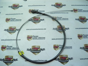 Cable freno de mano primario  Renault 4 F6   Ref: 7702107376