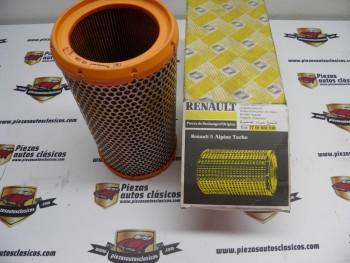 Filtro de aire Renault 5 GT Turbo  Ref: 7701031518