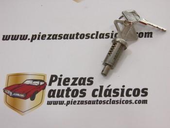 Cilindro de cerradura  Renault  4, 6 y 12 moderno con 2 llaves