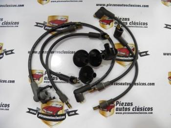 Juego de  cables de bujía  Renault  5  Alpine, Alpine Turbo, 18, Fuego y 20  Ref: 346358
