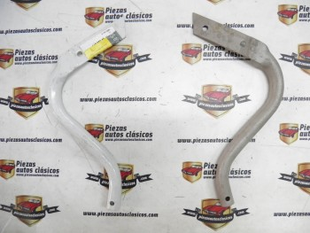 Pareja de mataburros para pintar o cromar  Renault 4