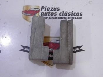 Pareja topes de capot  Renault 6  Ref: 0556384300 / 0556384200