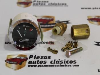 Conjunto Temperatura Universal 12V 52mm Veglia Ref:JAEGER13000