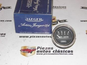 Reloj Presión De Aceite  JAEGER Universal 12V Cromado