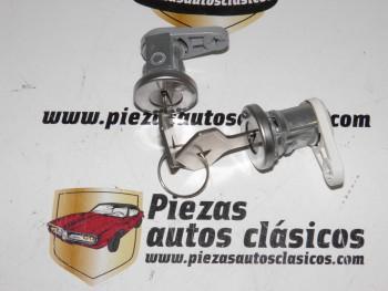 Juego De Bombines Cerradura Delanteros Renault  Super 5,21 Clio I, Express y Twingo I