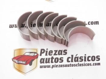 Juego casquillos de biela  Renault  4, 4 CV, Dauphine...  motor Ventoux  (sobremedida 0,25)