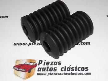 Pareja De Fuelles Cremallera Dirección  Renault 4 Desde 61-68