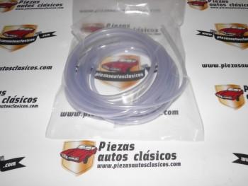 Tubo Vinilo Transparente Limpiaparabrisas 3x5mm (vendido en rollos de 5m)