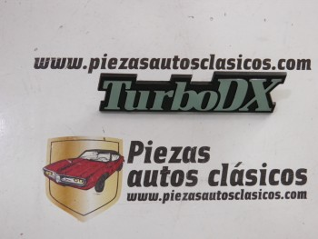 Anagrama lateral turbo DX  Renault 21 Turbo DX  Ref: 7700773029