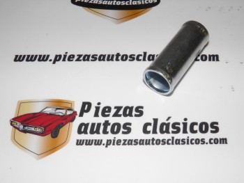 Tubo de unión manguitos de calefacción 20mm.  Renault 8 y 10