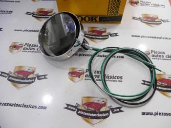Espejo retrovisor  cromado cable corto (1,02 mtr.)  Dodge