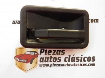 Maneta Apertura Interior Negra  Renault  19, Clio, Super 5 y Express  Ref: 7700813586